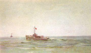 Артек, Прогулка на катерах по Чёрному морю