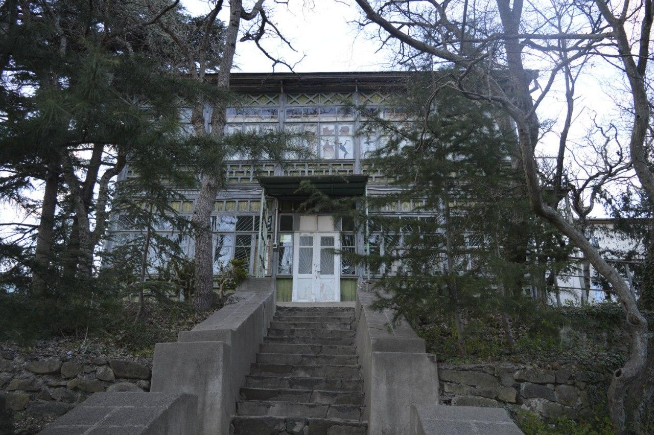 Дом Метальникова в Артеке