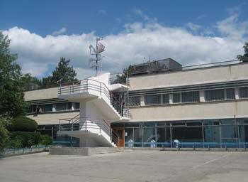 Медицинский корпус в Артеке