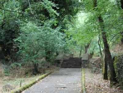 Юбилейная лестница в Артеке