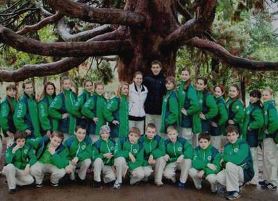 Фото у Дерева желаний в Артеке