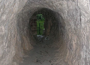 Тоннель в Кипарисном Артеке