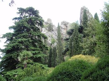 Генуэзская скала, Артек