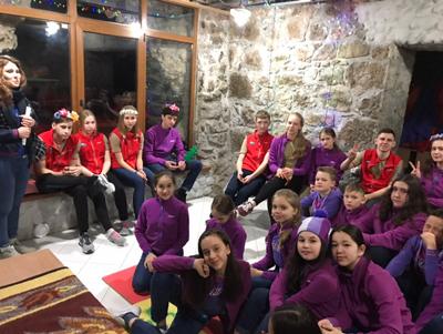Артек, Турклуб в Кипарисном
