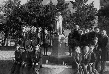 Артек, памятник Пушкину