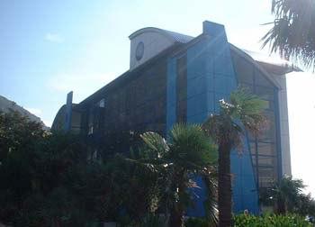 Синий корпус в Морском Артеке
