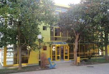 Жёлтый корпус в Артеке