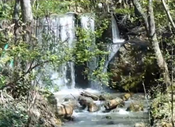 Река Путамиц в Артеке, Гурзуф