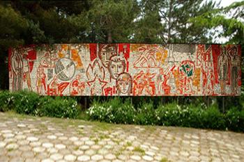 Мозаика в Артеке