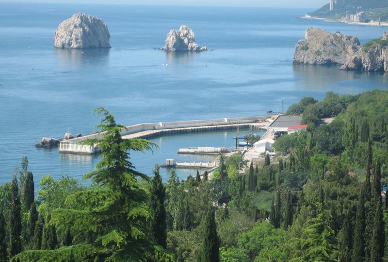 Крым, Артек, Порт