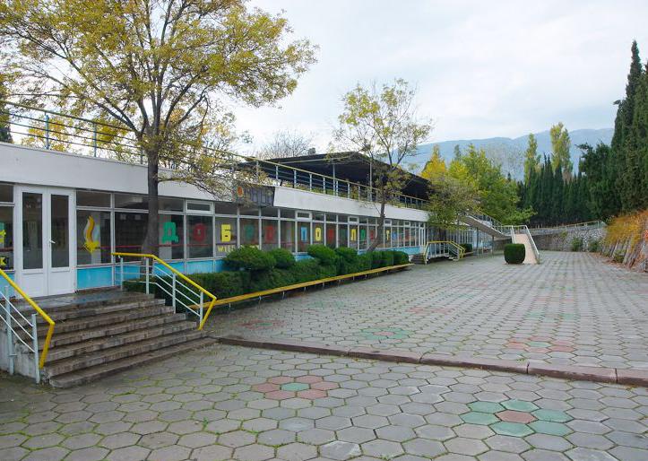 Артек, Площадь Приёма детей