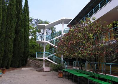 Корпус Ромашка в Артеке